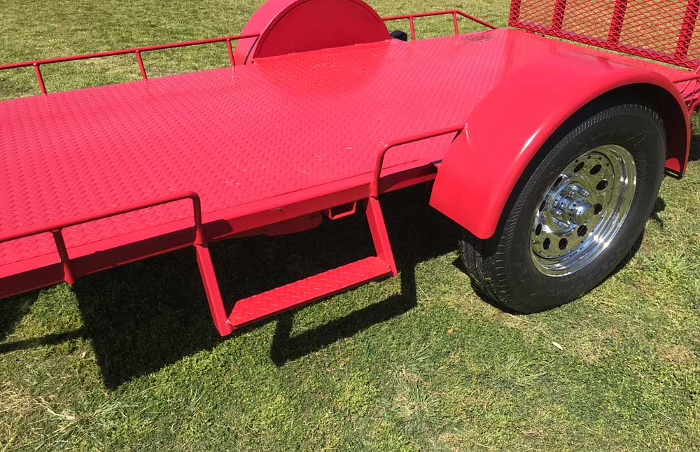 Custom Golf Cart Easy Step