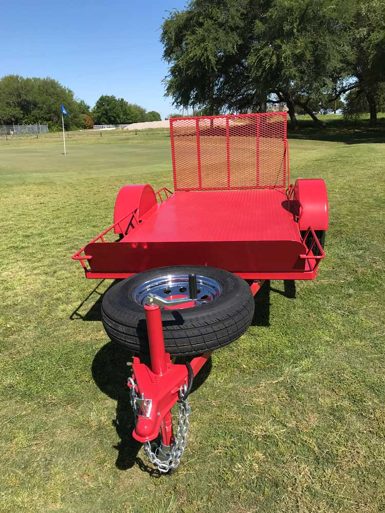 Custom Golf Cart Trailer Front