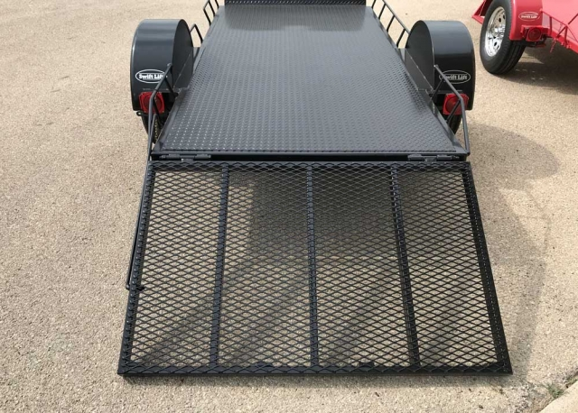 Custom Golf Trailer Ramp