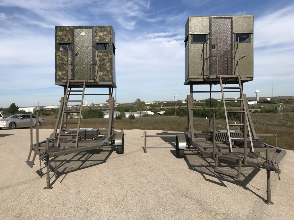 Pros Amp Cons To An Elevated Hunting Tower Blind The Swift
