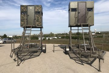 elevated mobile hunting towers - the swift lift